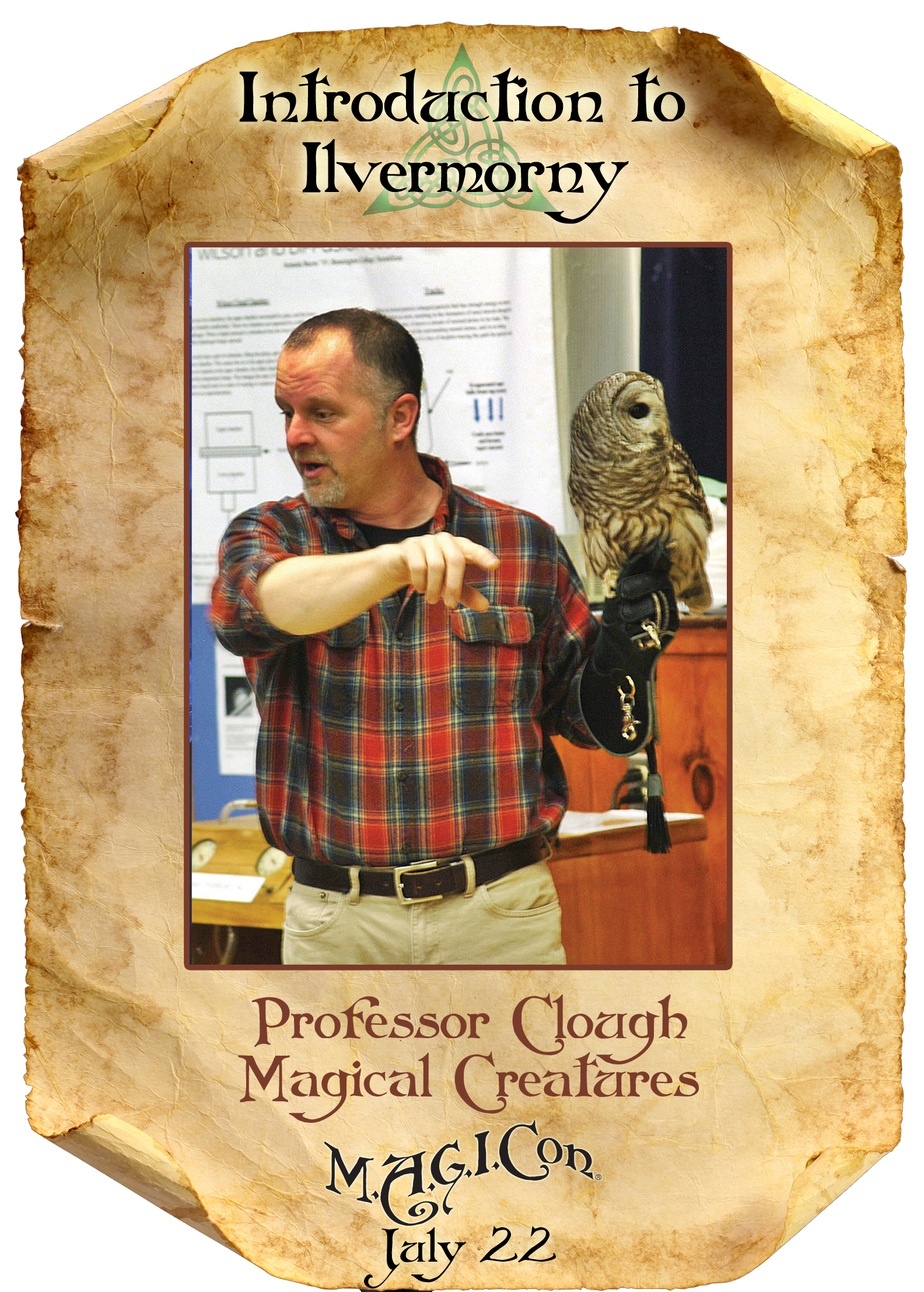Professor Clough - Magical Creatures