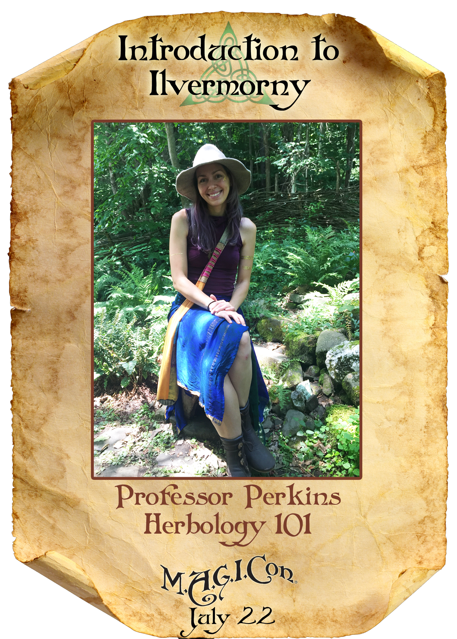 Professor Perkins - Herbology 101